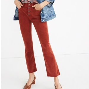 NWT Tall Cali Demi-Boot Jeans: Corduroy Edition26T